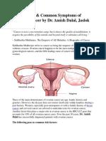 Risk Factors & Common Symptoms of Ovarian Cancer by Dr. Amish Dalal, Jaslok