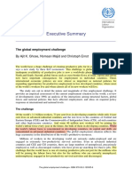 Global Employment Challenge
