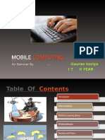 Mobile computing ppt