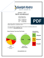 Guelph-Hydro-Rate-Schedule