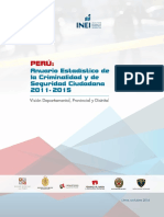 ANUARIO CRIMINALIDAD 2015 PERU