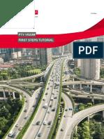 PTV Vissim - First Steps ENG