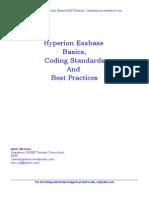 Essbase Coding Standards
