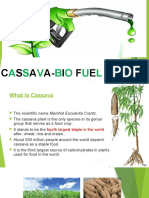 Cassava Biofuel