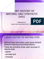 1-A Brief History of Natural and Synthetic Dyes