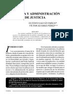17-07-16, Pobreza y Administración de Justicia, Galván y Alvarez