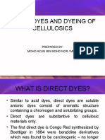 7-Direct Dyes and Dyeing of Cellulosics