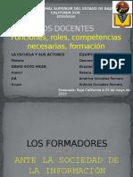 Eq3 - La Escuela y Sus Actores - Los Docentes - 2a