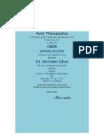 Avior Therapeutics