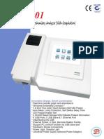 SB-501 Semi-Automatic Biochemistry Analyzer With Coagulation