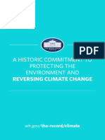 Obama Climate Booklet