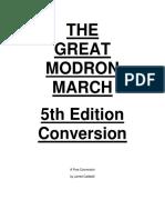 The Great Modron March 5e Conversion (10461089)