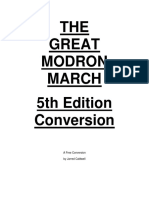 The Great Modron March 5e Conversion (10461089)