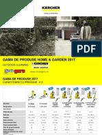 Gama de Produse 2017 Home & Garden Sculegero