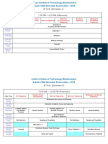 Autumn Mid Semester Time Table 2016 1