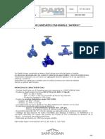 Valvula de Compuerta PAM Modelo Gateway