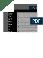 Salary +Attendance Sheet