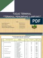 Terminal Penumpang Lampung