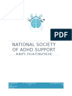 National Society of ADHD Support and Diagnosis