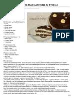 Retete-haplea.ro-tort Cu Crema de Mascarpone Si Frisca