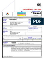AD MSDS