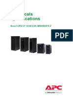 Smart-UPS Specifications Catalogue