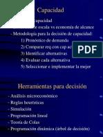 Modelos de Pronosticos en produccion u operaciones