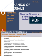 6 Shearing Stresses Week#9