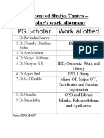 Department Work