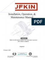 Lufkin Gear O & M Manual Nvq2207c IOM