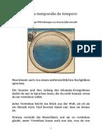 Peter Pörtner Sepher - besser sermo temporalis de tempore