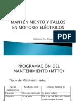 Mantenimiento y Fallos en Motores Eléctricos
