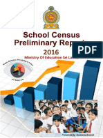 Education - Department of Census and Statistics 2016