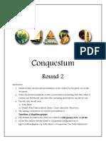 Conquestum Round 2