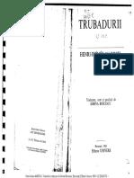 H.-I. Marrou, Poezia Trubadurilor si Truverilor (Partea 1)