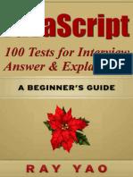 JavaScript_ JavaScript 100 Test - Ray Yao