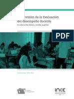 Supervision Desempeño Docente 2016