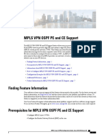 Mp VPN Ospf Pe Ce Support
