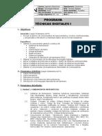 Técnicas Digitales I-2015