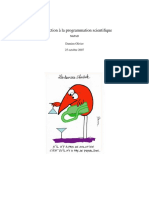 Programmation Scientifique Polyp
