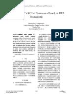 Analysis on IT's ROI in Businesses Based on REJ Framework