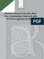 Gerardo Oviedo - Historia autóctona de las ideas filosóficas y autonomismo intelectual
