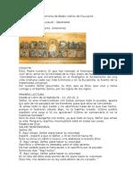 Textos Liturgicos Memoria de Beato Carlos de Foucauld