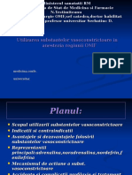 Utilizarea Substantelor Vasoconstrictoare in Anestezia Regiunii OMF