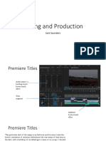 screenshot production