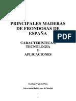 PRINCIPALES MADERAS DE FRONDOSAS EN ESPAÑA