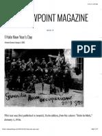 Gramsci-I Hate New Year