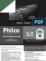 Manual TV Philco 55 Pol