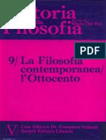 Mario Dal Pra - Storia Della Filosofia. La Filosofia Contemporanea l'Ottocento. Vol. 9 - Vallardi (1975)