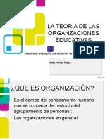 Las Organizaciones Educativas